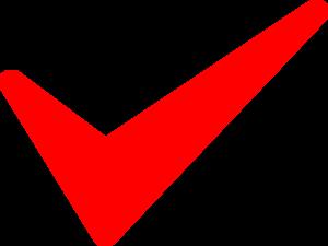 Red Tick Clip Art At Clker Com Vector Clip Art Online Royalty Free