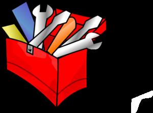 Red Toolbox Clip Art - Toolbox Clipart