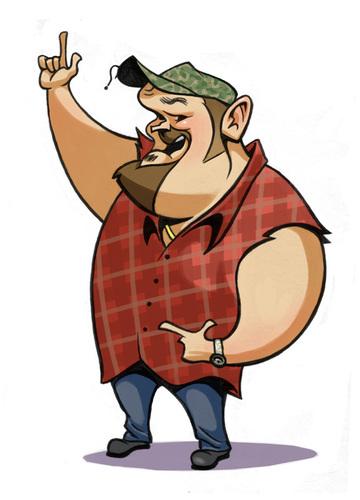 Redneck Cartoon People