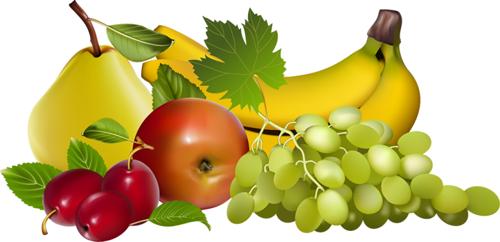 Reduced Risk Of Some Chronic  - Fruits Clip Art