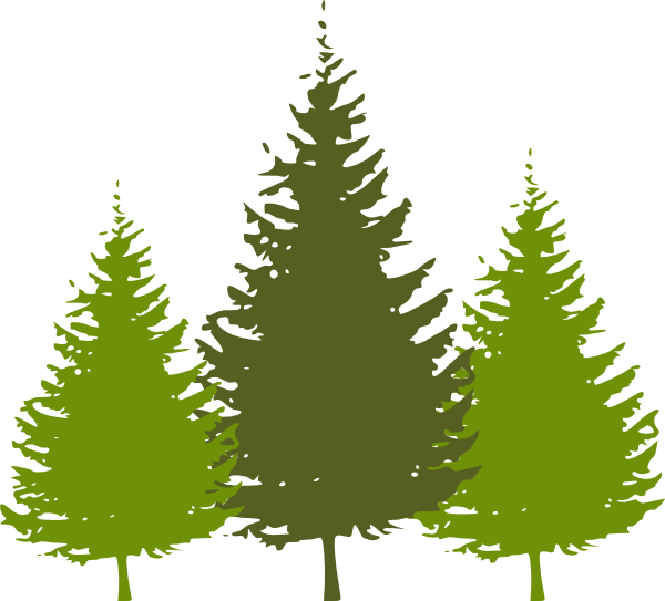 Redwood Tree Clip Art. Download this image as: