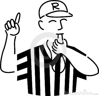 Referee Clipart Cartoon Sports Referee 6460634 Jpg