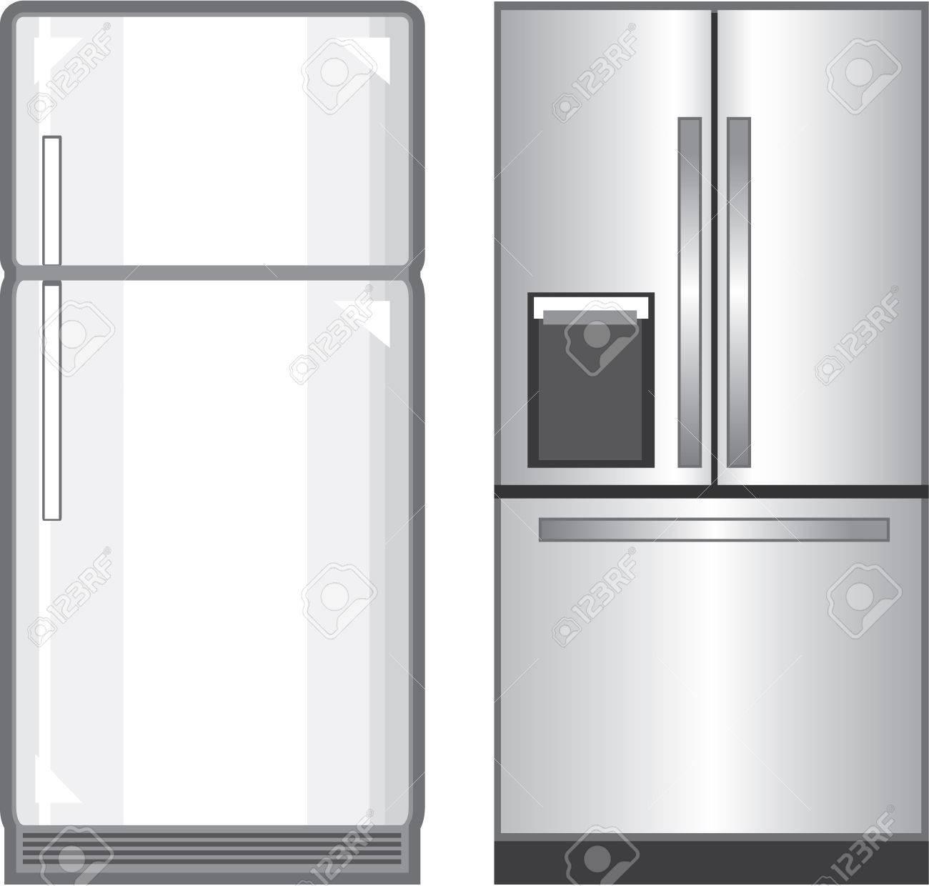 Refrigerator illustration clip-art image vector Stock Vector - 69966275