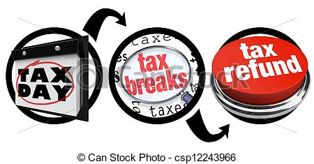 How To Get Tax Breaks Bigger Refund Due -How to Get Tax Breaks Bigger Refund Due Date - csp12243966-4