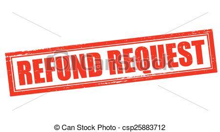 Refund request - csp25883712