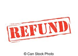 . ClipartLook.com Refund - Stamp with word refund inside, vector illustration