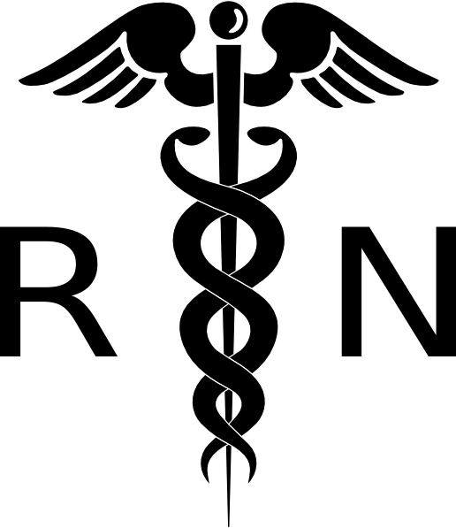 Registered Nurse Clip Art Rn Cadeuces Cl-Registered Nurse Clip Art Rn Cadeuces Clip Art Vector-16