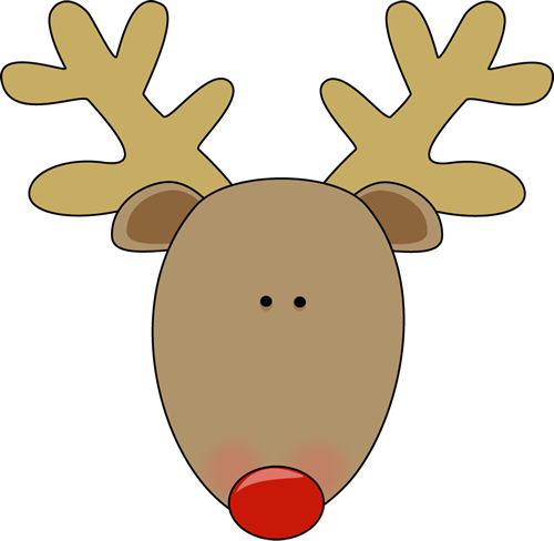 Reindeer Antlers Clipart Imag - Rudolph The Red Nosed Reindeer Clipart