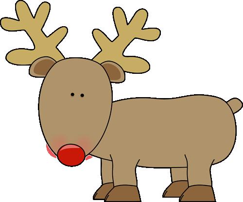 Reindeer Clip Art Cute Reindeer With A R-Reindeer Clip Art Cute Reindeer With A Red Nose-7