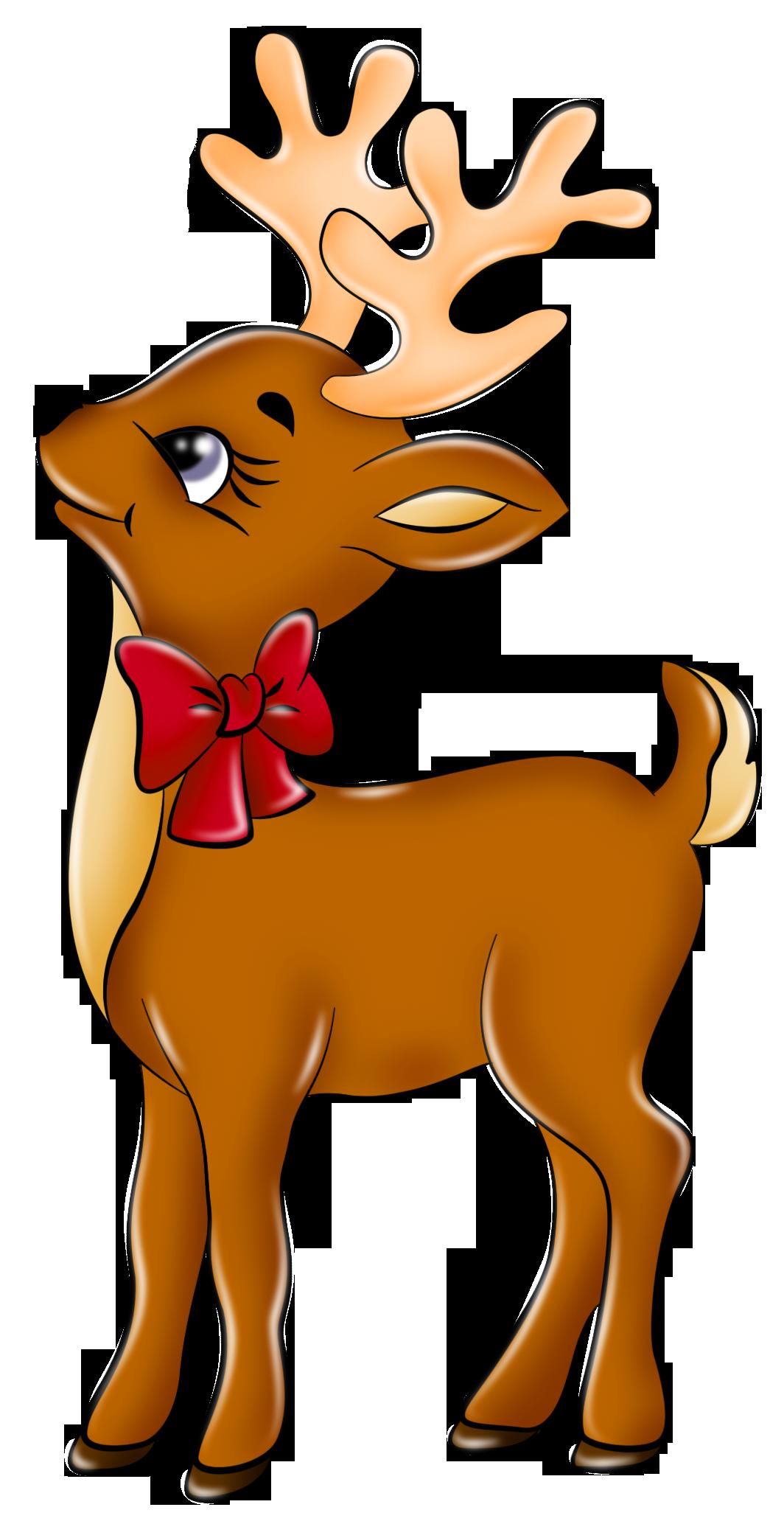 Reindeer Clip Art Free Image Free Clipar-Reindeer clip art free image free clipart image 4-7