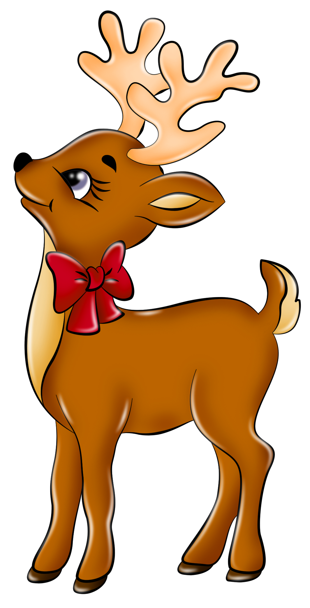 Reindeer clip art free image free clipart image 4