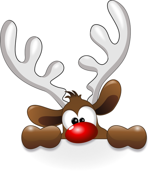 Cute Reindeer Svg Scrapbook C