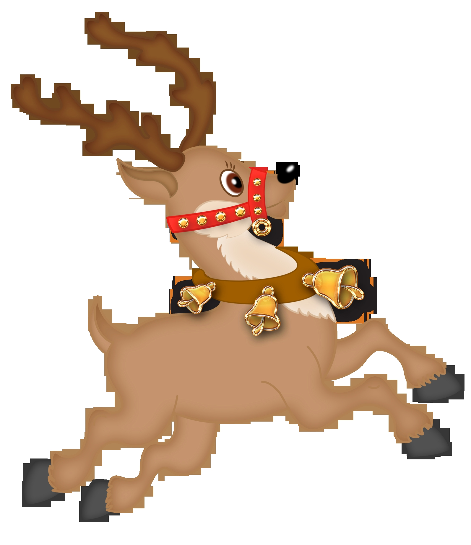 christmas reindeer clipart - 15 - o - Christmas Reindeer Free Download Clip  Art