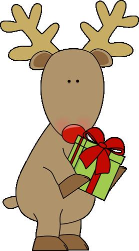 Reindeer Clipart Free Cute .