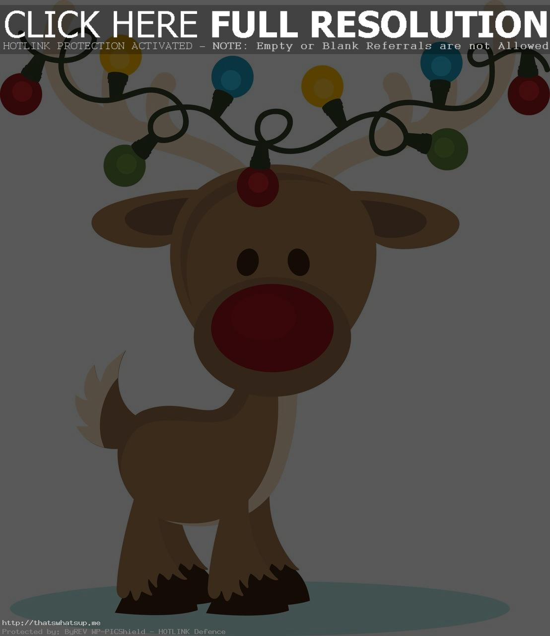 Funny Reindeer Clipart PPbN Designs You Do Not Have Permission In