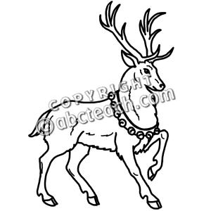 Reindeer Clipart-Reindeer Clipart-15