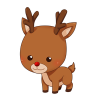 Reindeer Clipart PNG Image