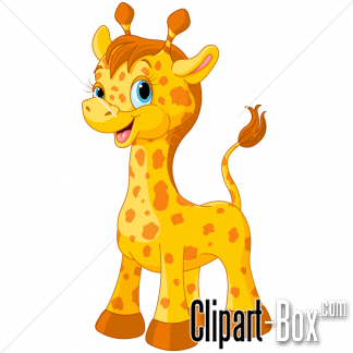 Related Cute Giraffe Cliparts