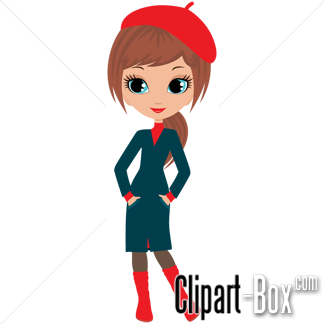 Related Fashion Lady Cliparts
