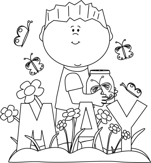 Related For Spring Clip Art Black And Wh-Related For Spring Clip Art Black And White-18