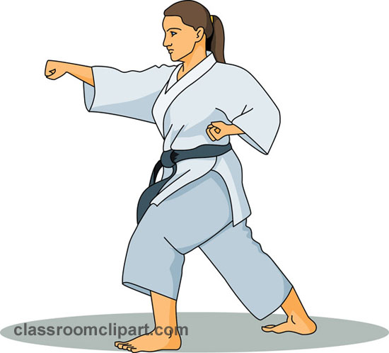 Related Pictures Clip Art Karate Girl Pi-Related Pictures Clip Art Karate Girl Pic By Melanie-16
