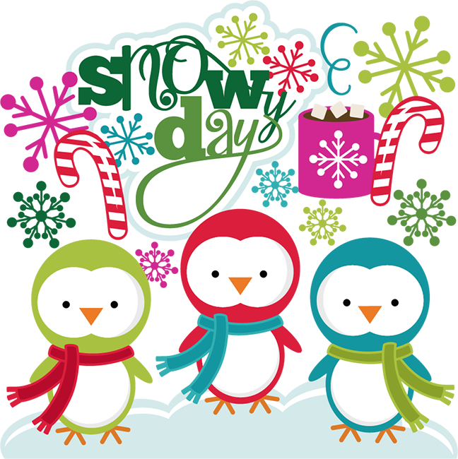 Related Pictures Shopping Car - Snow Day Clip Art