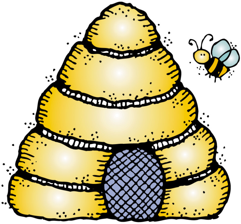 Related This Beehive Clipart