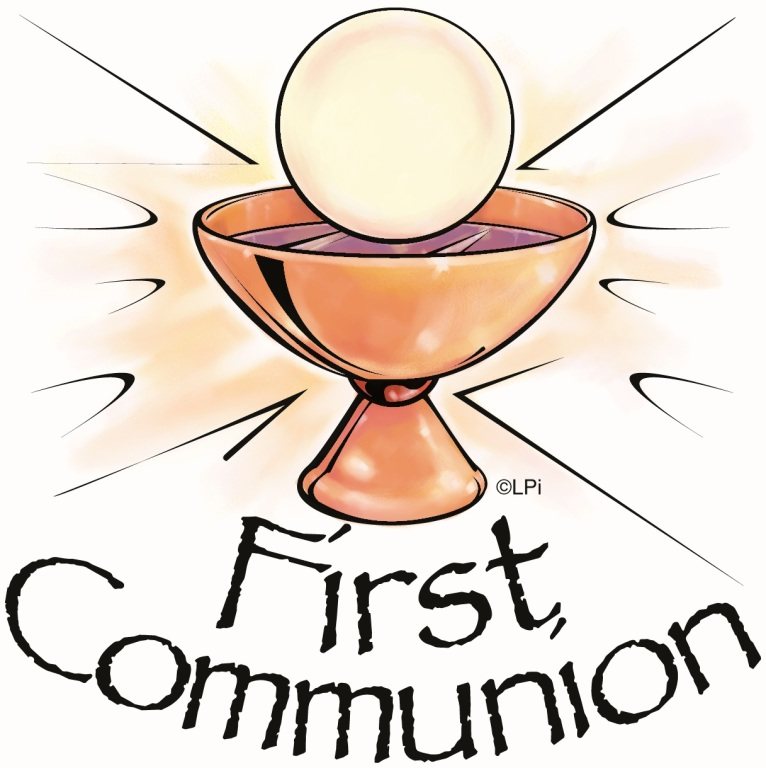 Related This First Communion Clip Art