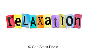 ... Relaxation Concept. - Illustration D-... Relaxation concept. - Illustration depicting cutout printed.-14