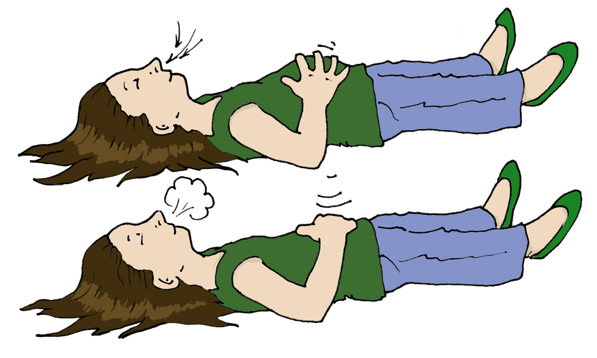 Relaxing Breathe Out Clipart U0026middot-Relaxing Breathe Out Clipart u0026middot; «-15