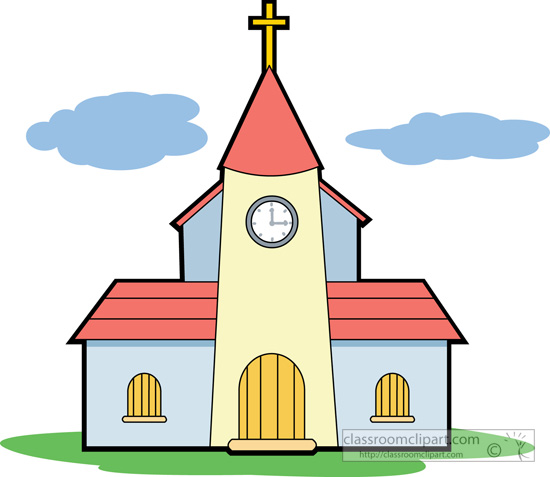 Religion Christian Church 614 Classroom Clipart
