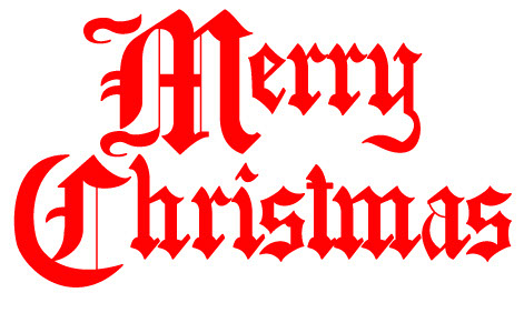 religious merry christmas clipart