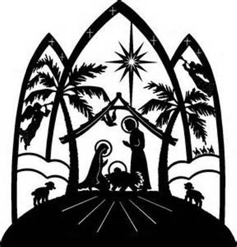 Religious Christmas Clip Art . .-Religious Christmas Clip Art . .-16