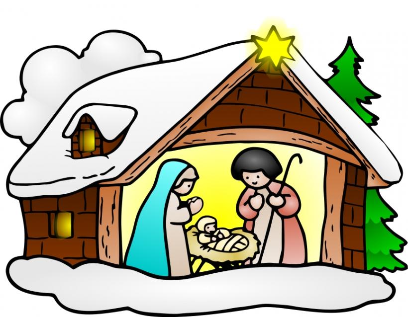 ... Religious Christmas Clipart Graphics-... Religious christmas clipart graphics ...-17