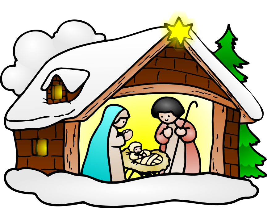Religious Christmas Clipart .-Religious Christmas Clipart .-15