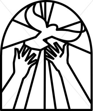 Religious Clip Art Black and White