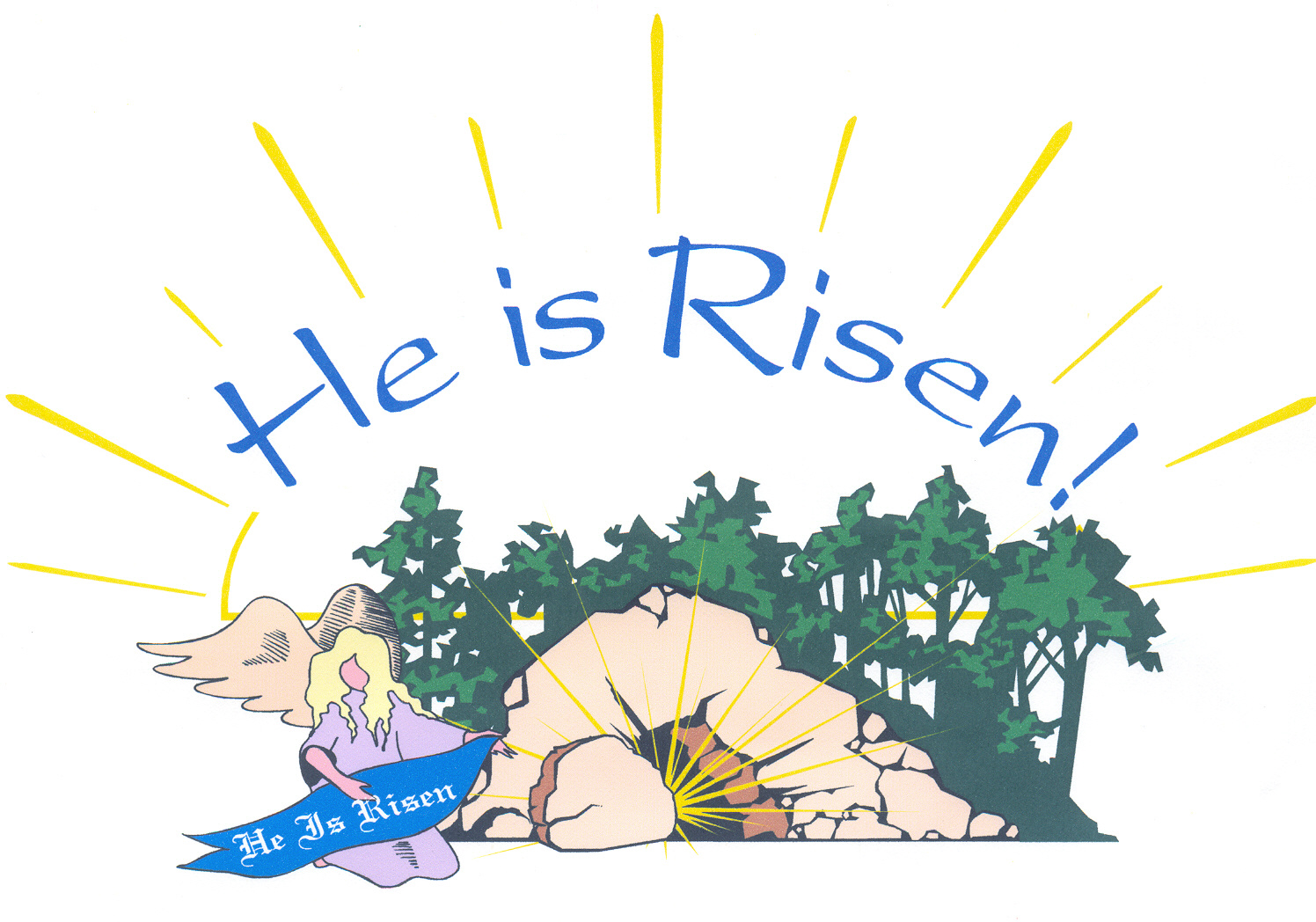Religious Easter Clipart Wallpaper - Cli-Religious easter clipart wallpaper - ClipartFest-18