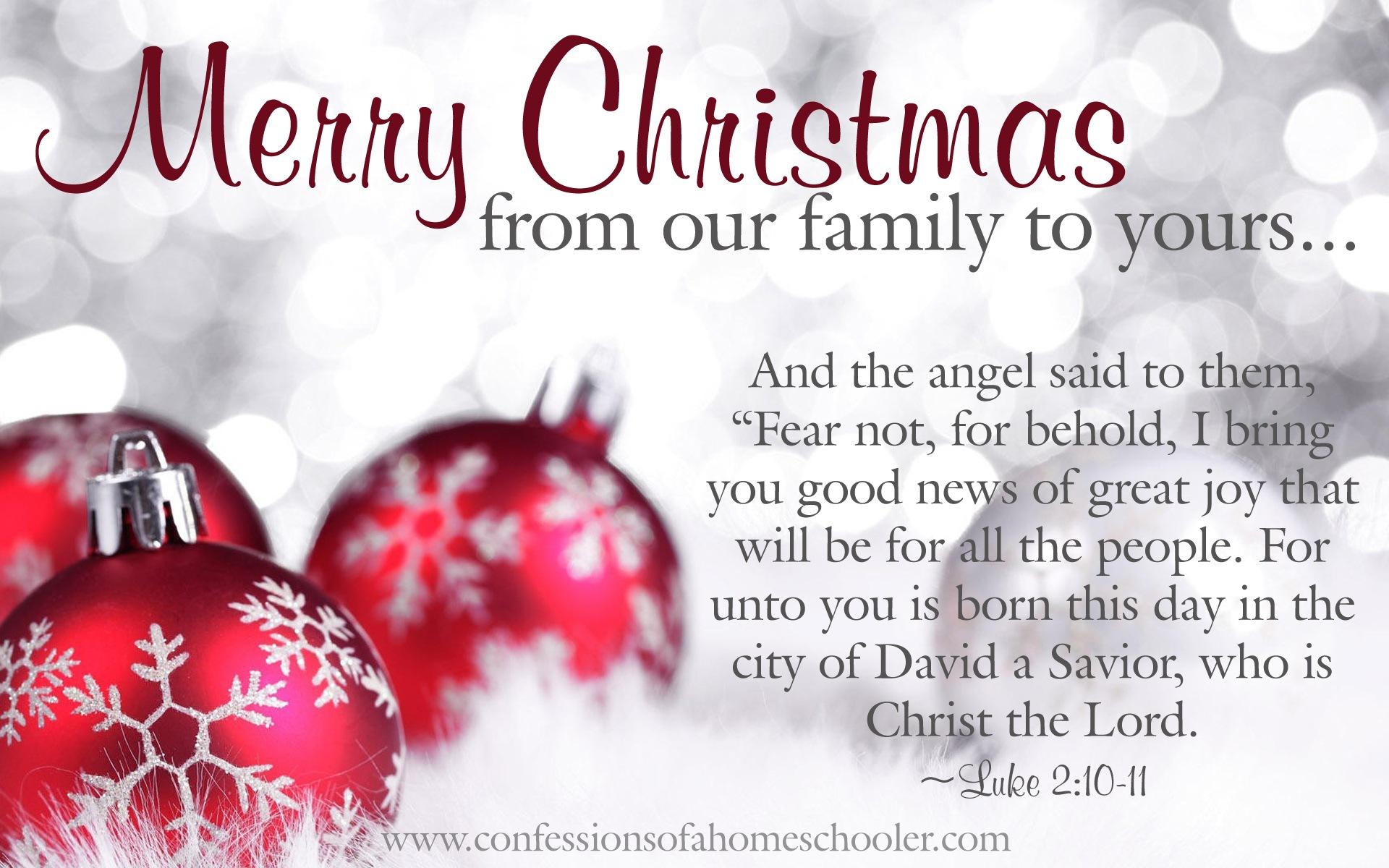 Religious Merry Christmas Clip .