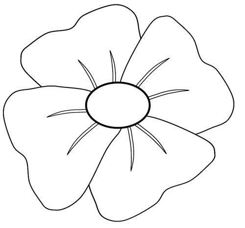 Remembrance Day Poppy Clipart Free Cliparts That You Can Download