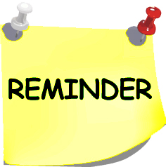 Reminder 2 clipart free clip art images image clipartcow