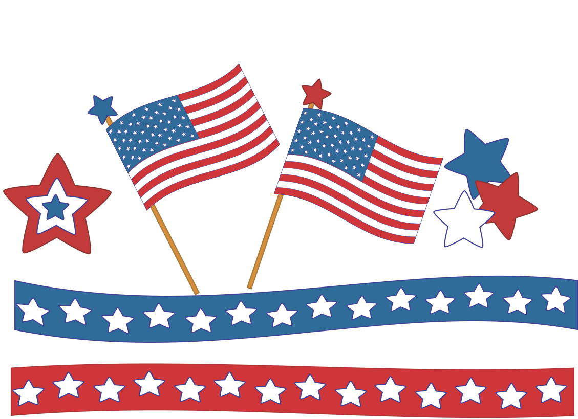 Rennea Is Offering This Cute 4th Of July Clip Art Set For Free