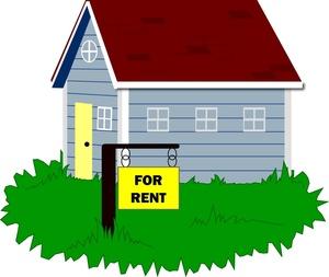 Duplex For Rent Clipart #1