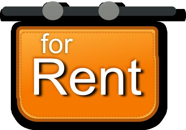 For Rent Sign Clip Art at Clker clipartlook.com - vector clip art online, royalty free  u0026 public domain