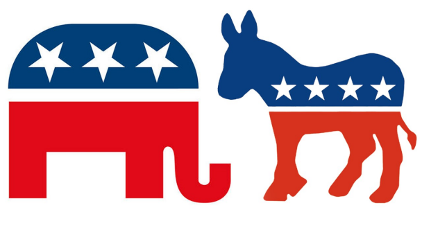Republican Elephant And Democratic Donkey Png Logos Of The Republican