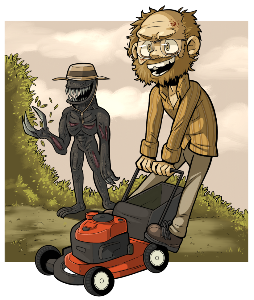 RESIDENT EVIL 7: MY MOWER! By PracticalA-RESIDENT EVIL 7: MY MOWER! by PracticalAl ClipartLook.com -16