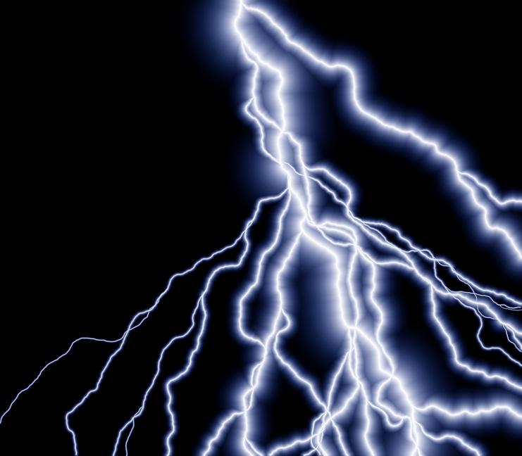 ... Resolution 741x648 ... - Lightning Clipart