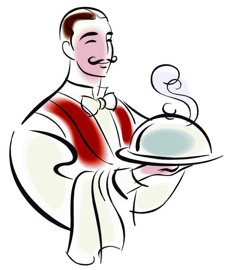 Restaurant Waiter Clipart Clip Art Waiter