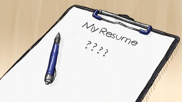 Resume clip art formal professional clipart 3