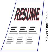 Resume Resume Clipart ClipartLook.com