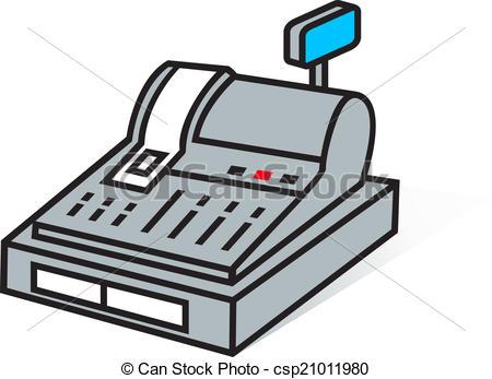 cash register sign - csp21011980